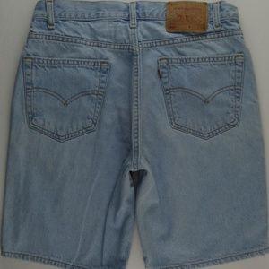 VTG USA Levi's 505 Jeans Men's 34 Dad Shorts B330
